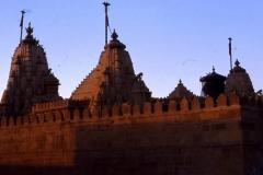 Temple Jaïn à Jaisalmer (Rajasthan-Inde)