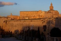 Une vue de la ville de Médina (Malte)