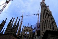 La Sagrada Familia (Barcelone-Espagne)