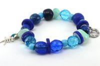 Bracelet en perles facettées de Tchéquie