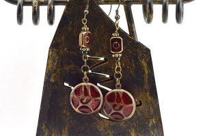 Boucles d'oreilles médiévales - Collection Casamance