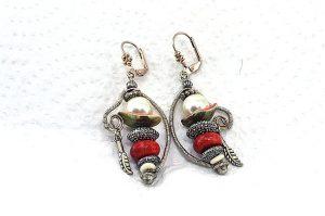 """Boucles d'oreilles """"voyage en mer"""" - Collection Gozo"""