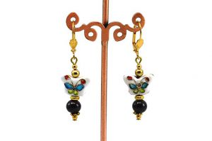 Boucles d'oreilles papillon - Collection Pacific
