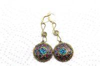 Boucles d'oreilles clé de sol- Collection Jaisalmer