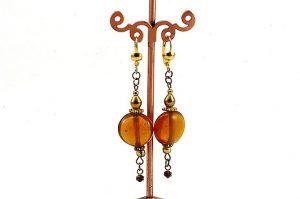 Boucles d'oreilles en goutte - Collection Jaisalmer