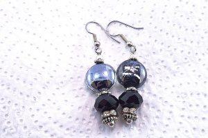Boucles d'oreilles en perles de verre - Collection Jaisalmer