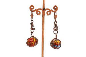 Boucles d'oreilles en tire bouchon - Collection Jaisalmer