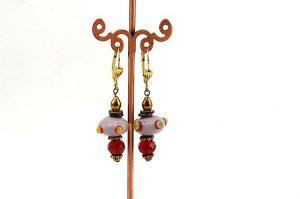 Boucles d'oreilles soucoupe volante - Collection Macchiarelli