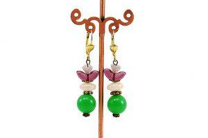 Boucles d'oreilles forme danseuse - Collection Macchiarelli