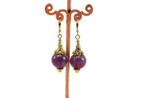 Boucles d'oreilles style vintage - Collection Macchiarelli