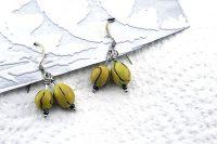 Boucles d'oreilles en double graine - Collection Piccoli