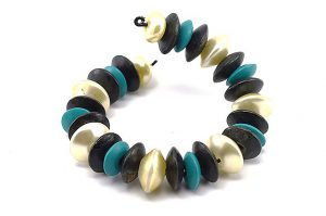Bracelet adaptable en fil d'alu - Collection Alida
