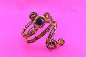 Bracelet en fil style égyptien - Collection Alida