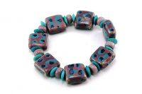 Bracelet en belles perles de céramique - Collection Bei Jing