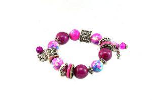 Bracelet en perles et argent - Collection Beijing