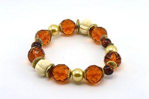 Bracelet en facettes tchèques - Collection Maroussia