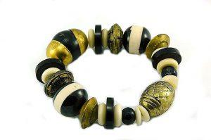 Bracelet en grosses perles – Collection Maroussia