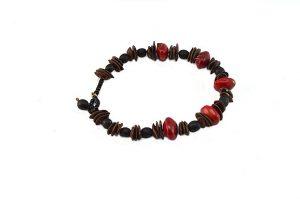 Bracelet fin fait de graines - Collection Tamalé
