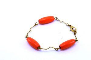 Bracelet fin en métal doré - Collection Tamalé