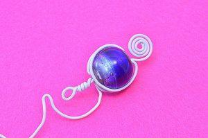 Marque-ta-page bleu petit modèle - Collection Curiosités