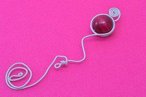 Marque-ta-page rose petit modèle - Collection Curiosités