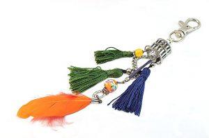 Porte-clés multicolore - Collection Bric à Brac