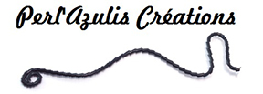 Logo Perl'azulis-créations