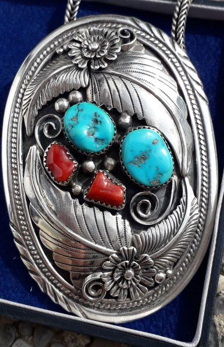 Collier argent 925 Navajo