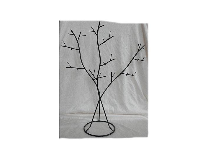 Portant en métal noir style arbre