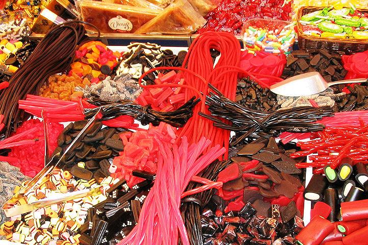Etal de bonbons- Barcelone.2