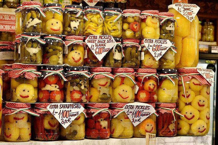 Fruits en pots - Budapest