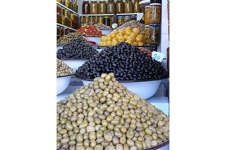 Une multitude d'olives - Marrakech.2