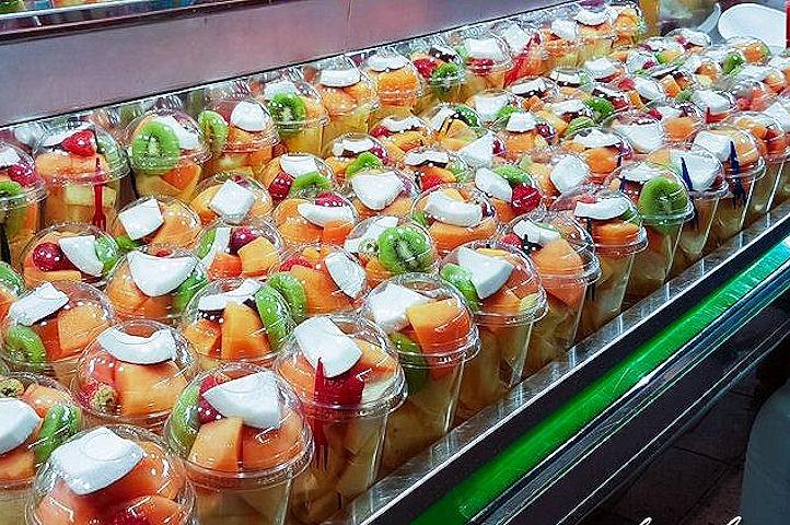 Un verre de fruits frais - Valencia.1