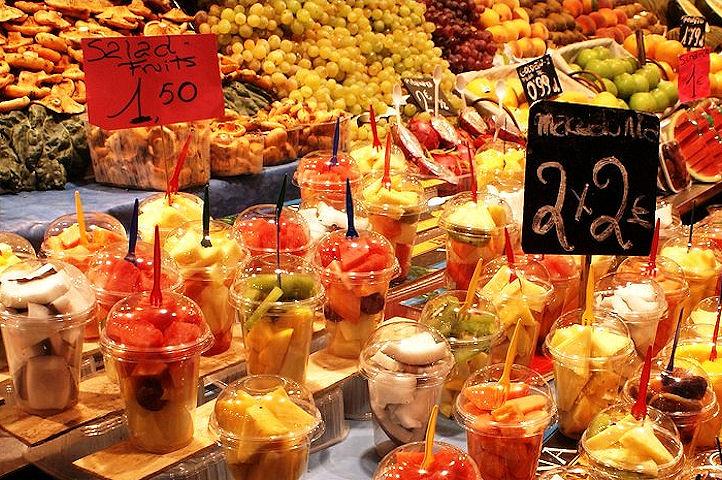 Un verre de fruits frais -Valencia.2