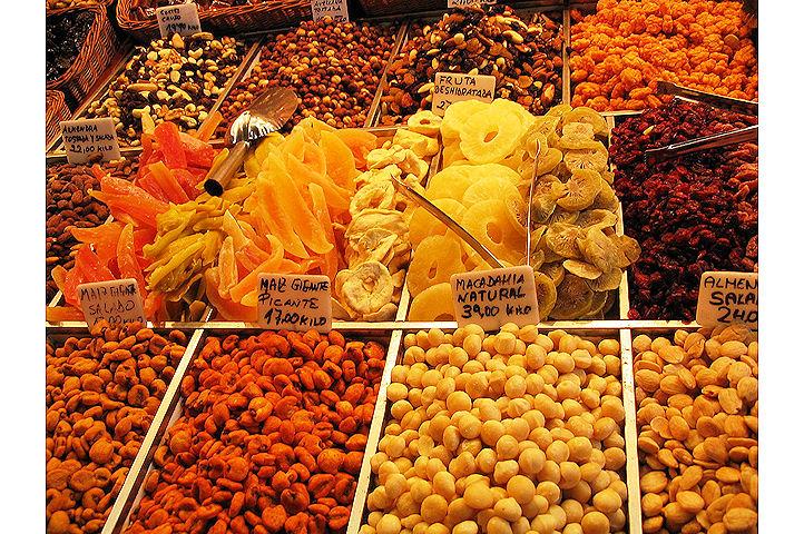 Fruits secs- Barcelone.1