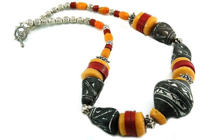 Collier style ethnique - Collection Tiznit